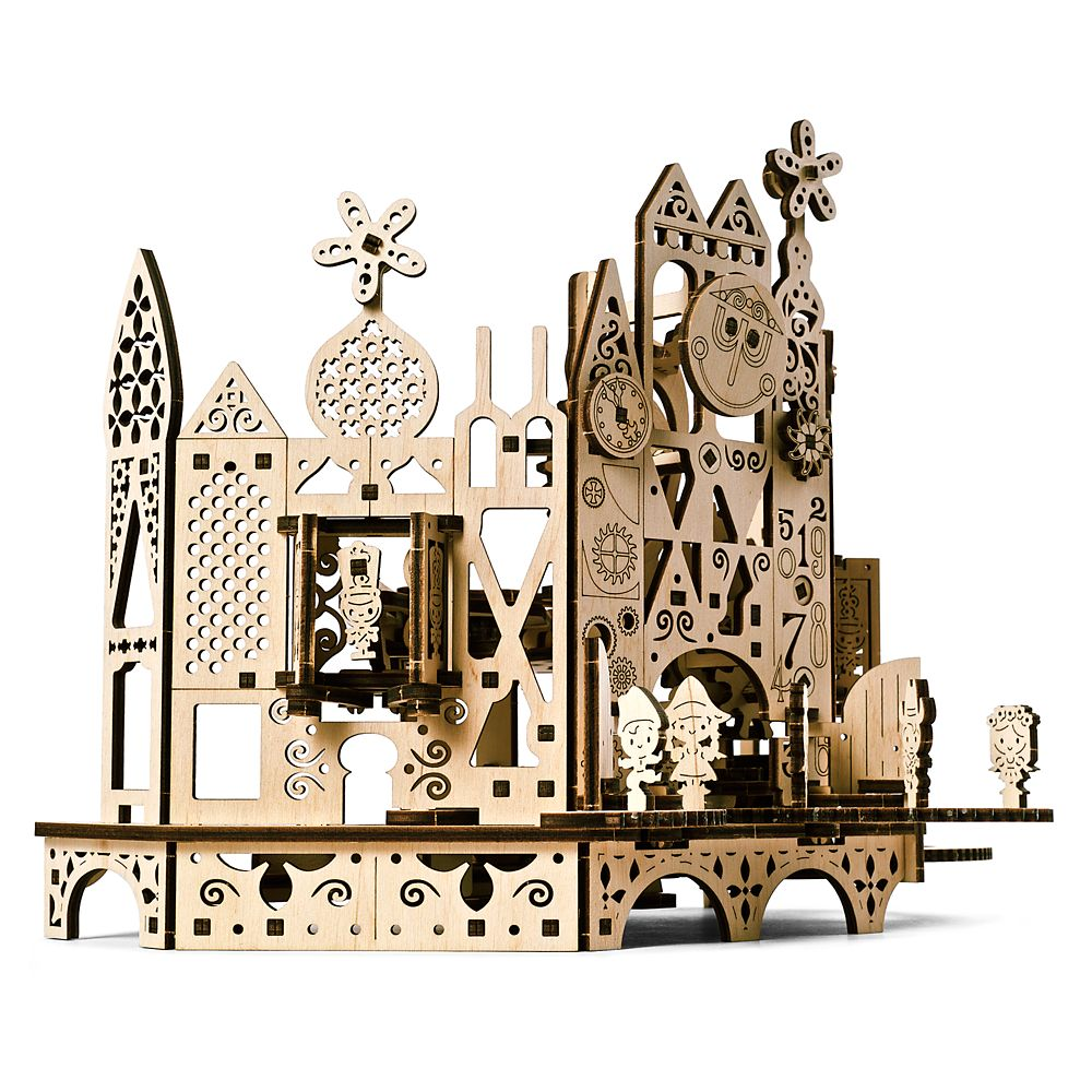 Disney it's a small world Wooden Puzzle by UGears