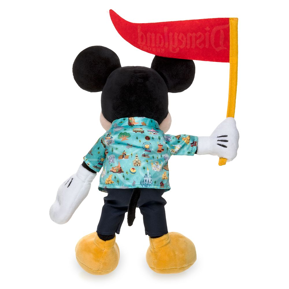 Mickey Mouse Park Life Plush – Disneyland – Small – 12''