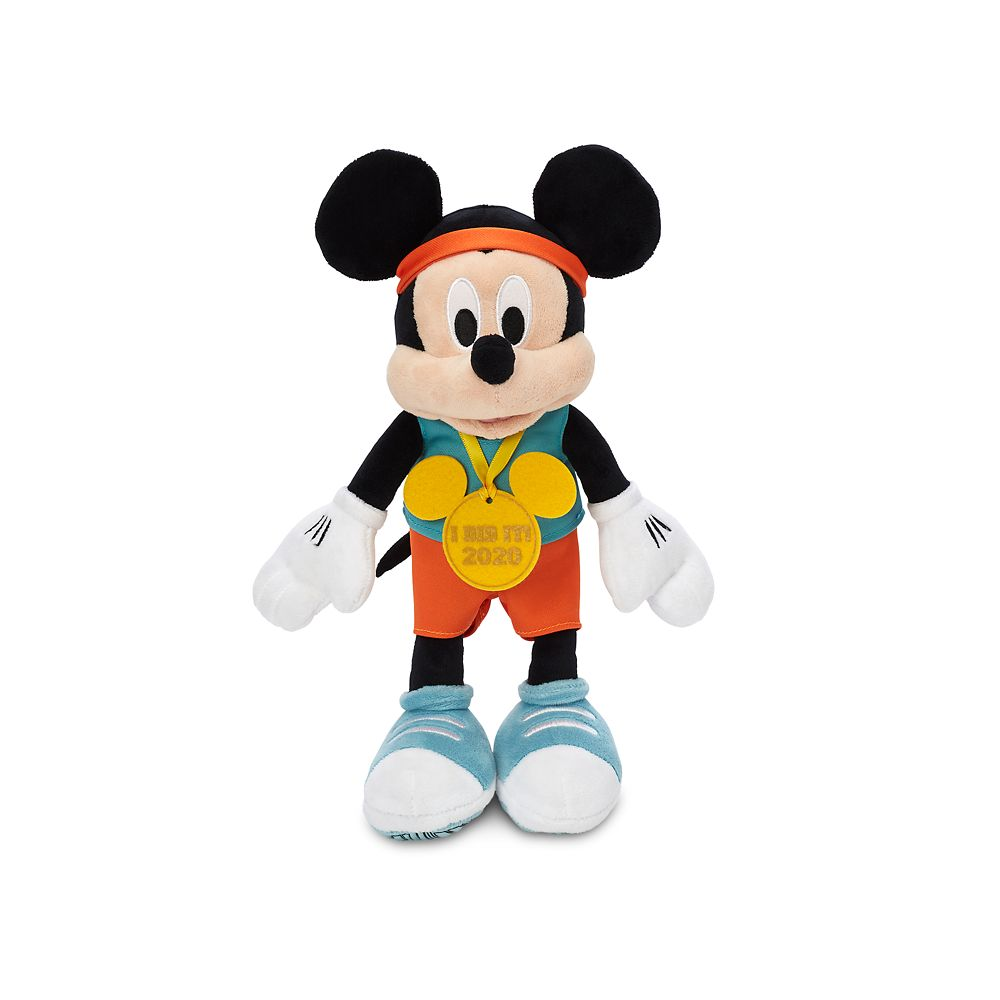 Mickey Mouse Plush – runDisney 2020 – Small – 12''