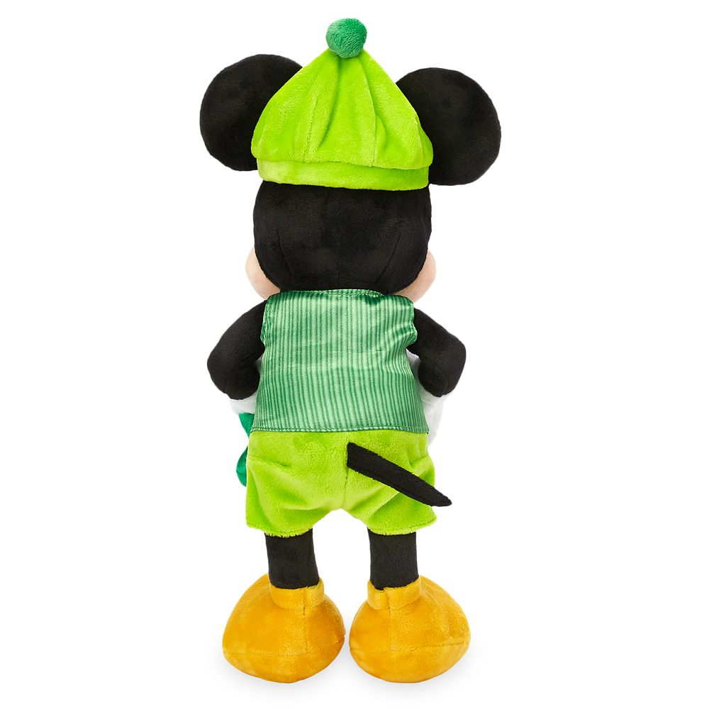 Mickey Mouse Plush – St. Patrick's Day – Small – 12''