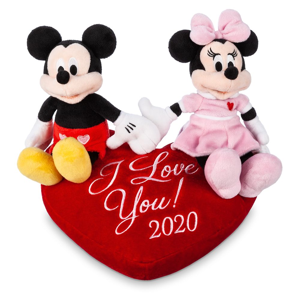 Mickey and Minnie Mouse Plush Duo – Valentine's Day 2020