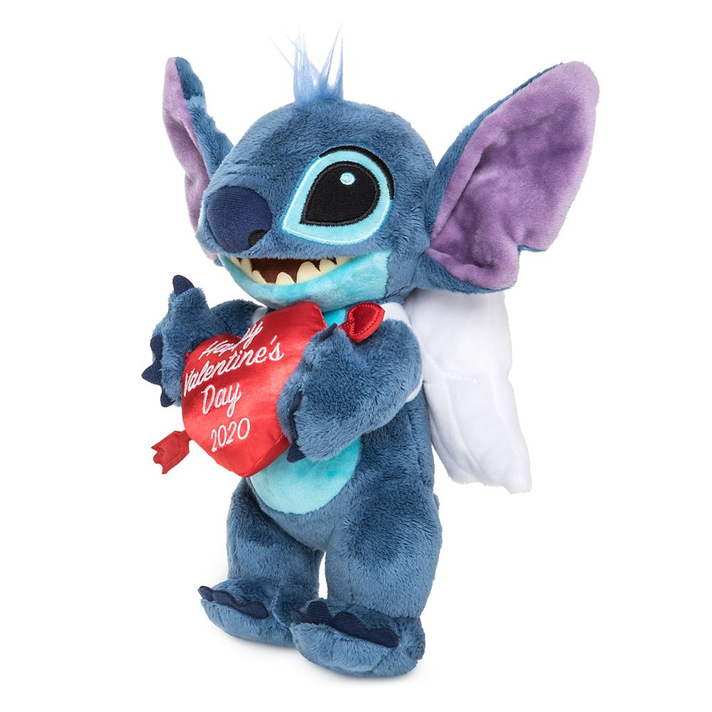 Disney Parks Happy Valentine/'s Day 2020 Mickey and Minnie Plush Heart Doll New