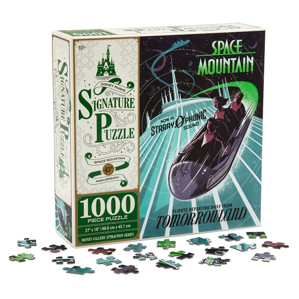 Space Mountain 45th Anniversary Jigsaw Puzzle