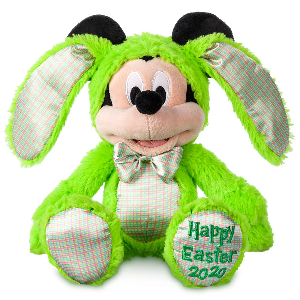 Mickey Mouse Plush Bunny – Easter 2020 – Small – 11''