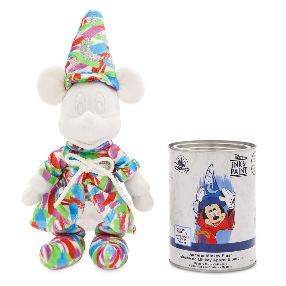 Sorcerer Mickey Mouse Mystery Plush Paint Can – Disney Ink & Paint
