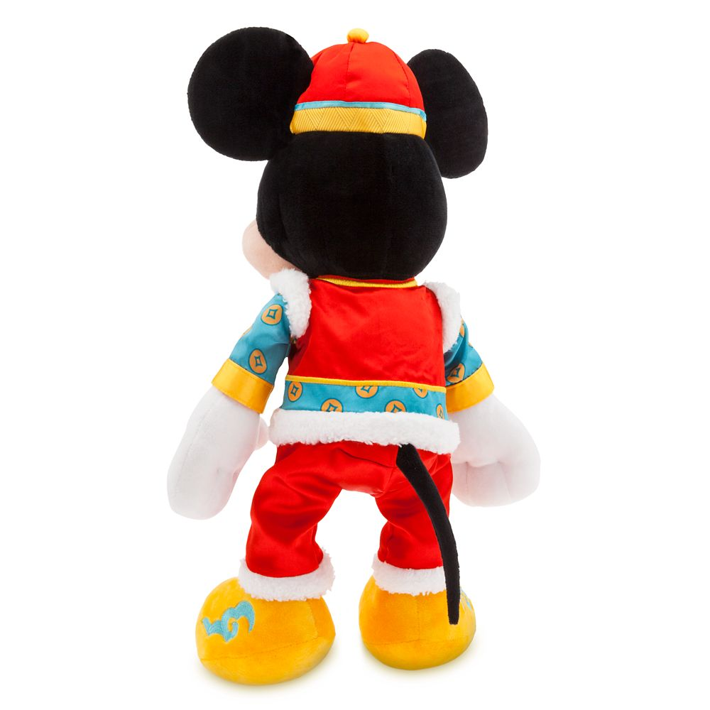 Mickey Mouse Plush – Lunar New Year 2020 – Medium – 18''