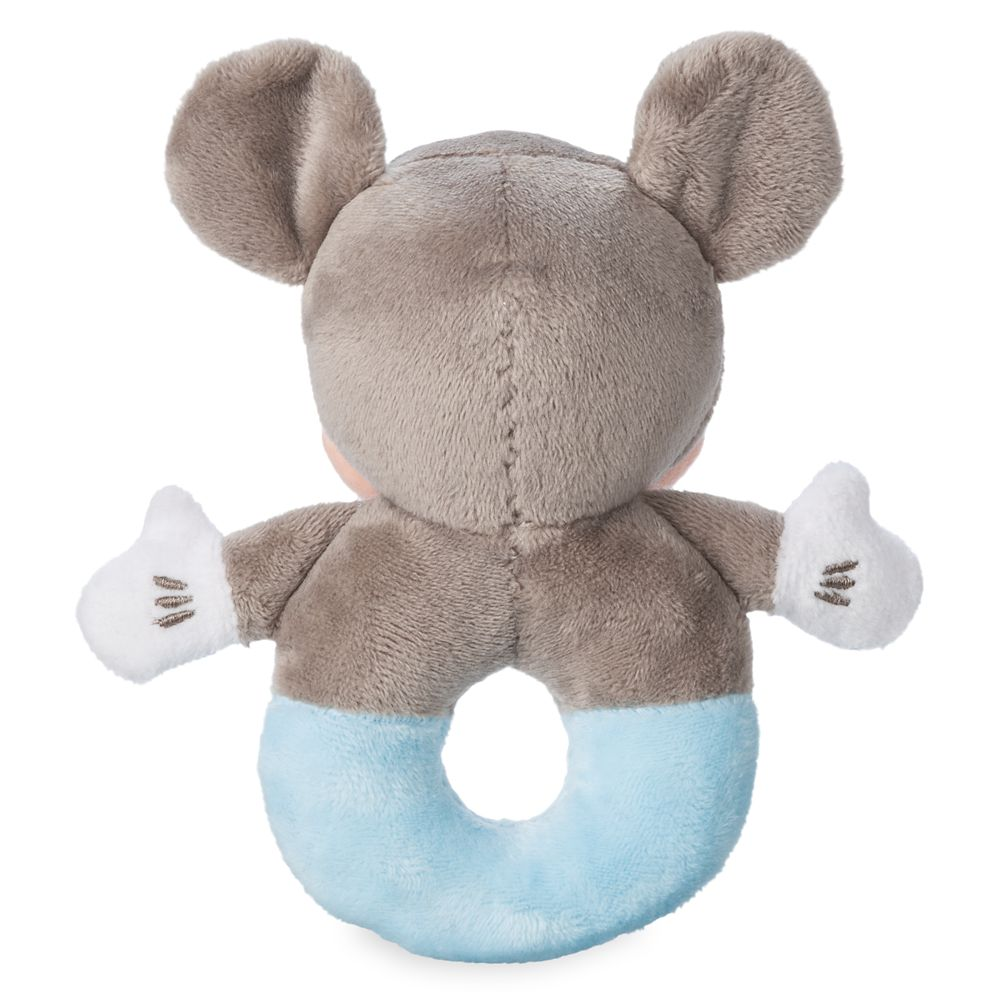 Disney Store Baby Boys Mickey Mouse Plush Slippers Blue