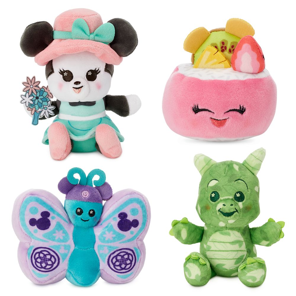 Disney Parks Wishables Mystery Plush – Epcot International Flower and Garden Festival 2020 Series – Micro – Limited Release