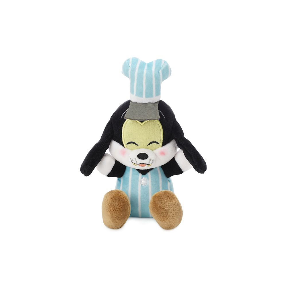 Goofy Disney Parks Wishables Plush – Mickey & Minnie's Runaway Railway – Micro – Limited Release