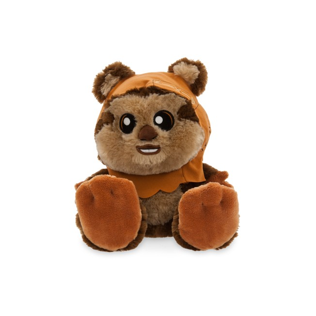 Wicket the Ewok Big Feet Plush – Star Wars – Medium – 10''