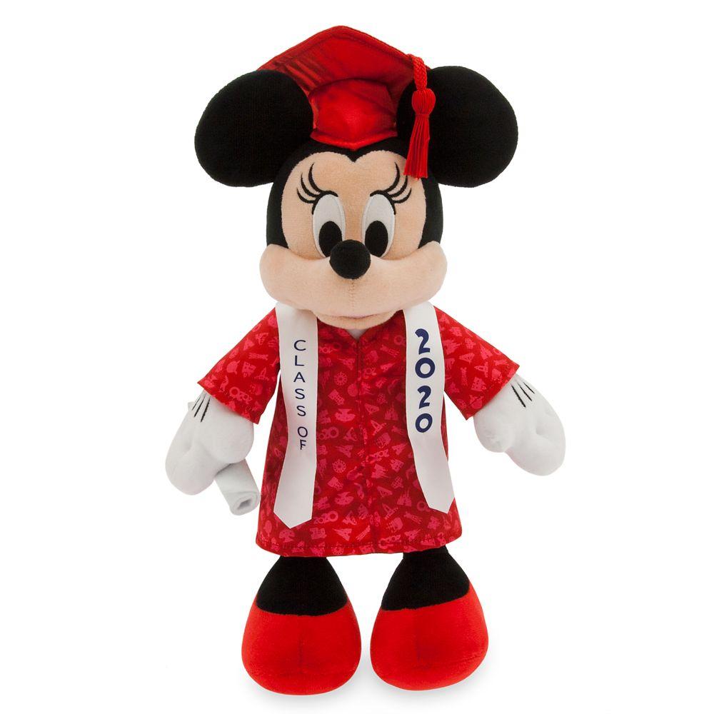 Minnie Mouse Graduation Plush 2020  Small  14'' Official shopDisney