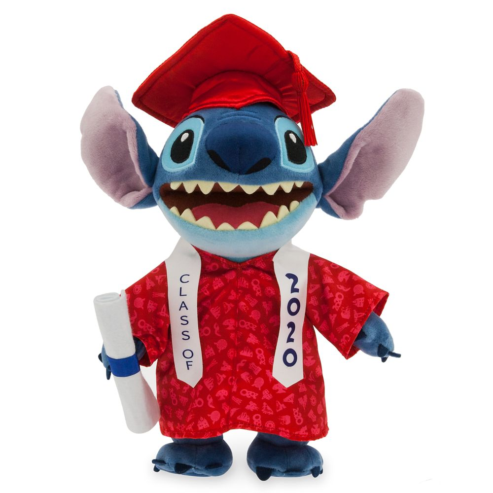 Stitch Graduation Plush 2020  Small  11'' Official shopDisney