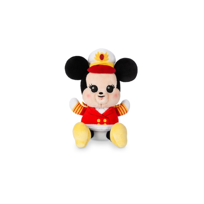 Captain Minnie Mouse Disney Cruise Line Wishables Plush – Micro – Limited Release