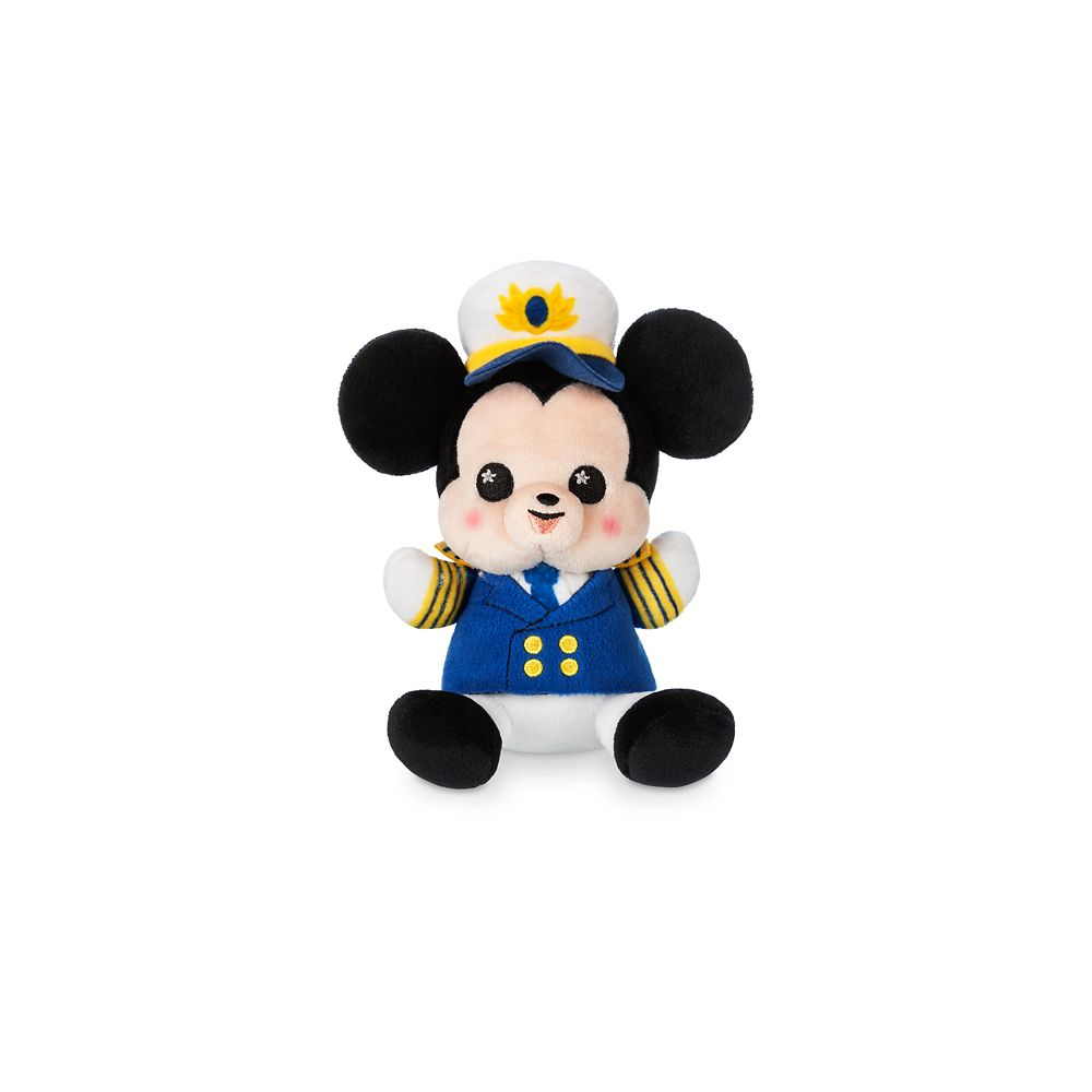 Captain Mickey Mouse Disney Cruise Line Wishables Plush  Micro  Limited Release