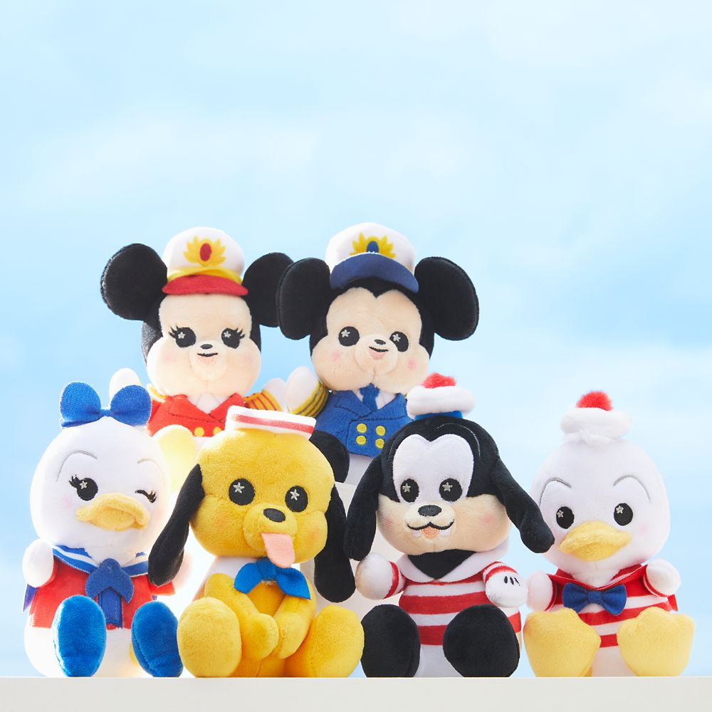 Captain Mickey Mouse Disney Cruise Line Wishables Plush – Micro – Limited Release