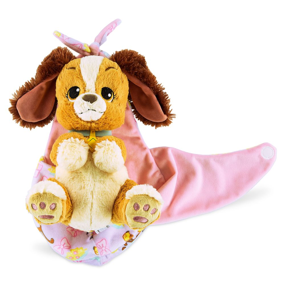 Lady Plush with Blanket Pouch – Disney's Babies – Small – 10''