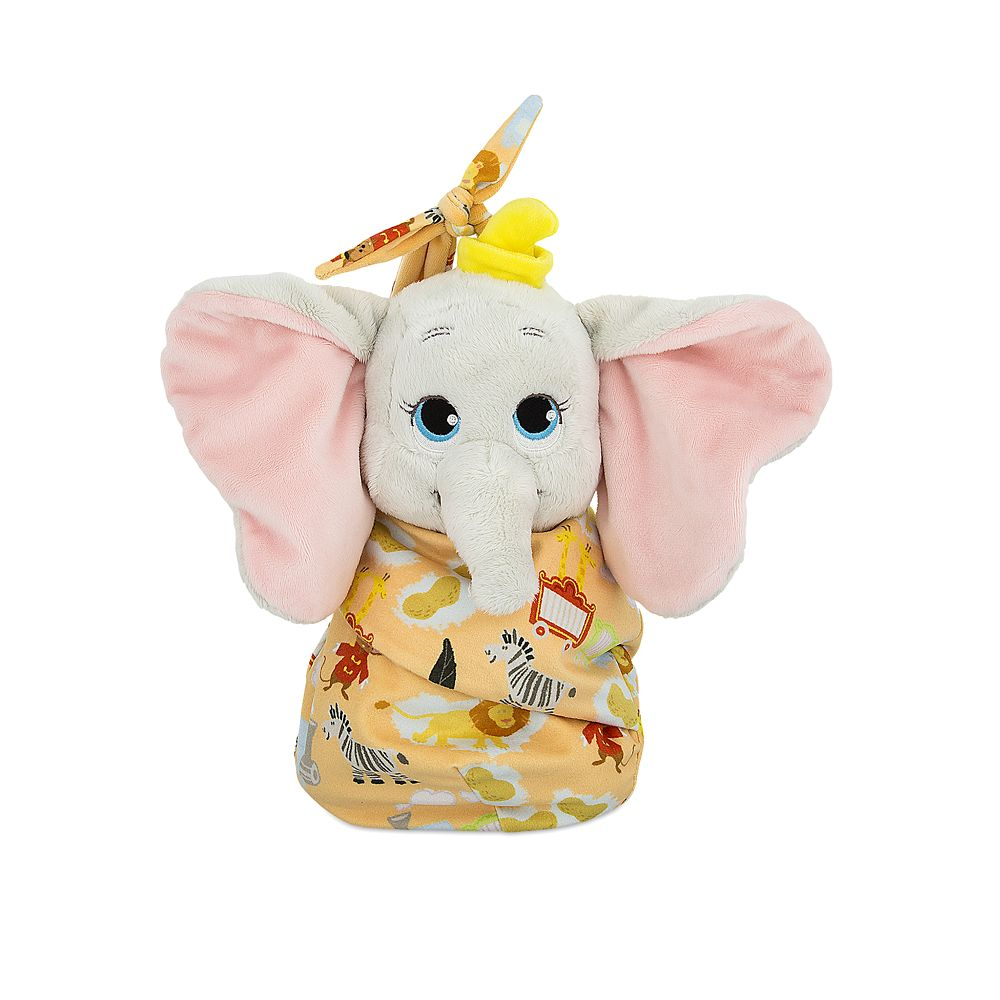 "shopdisney.com - Dumbo Plush with Blanket Pouch  Disney's Babies  Small  10"" 32.99 USD"