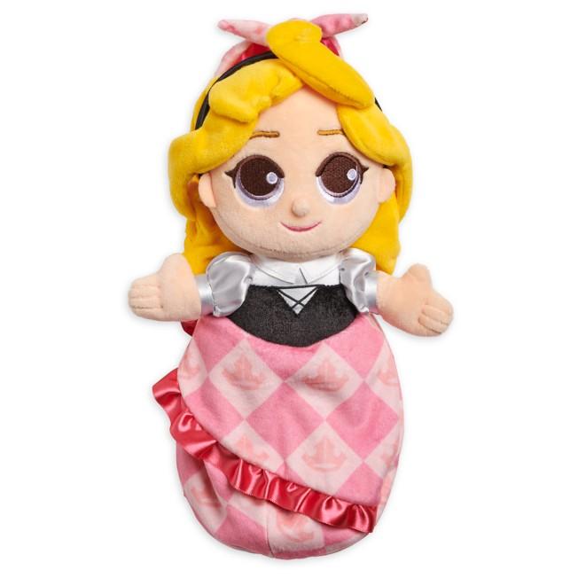 Disney Babies Aurora Plush Doll in Pouch – Sleeping Beauty – Small – 12''
