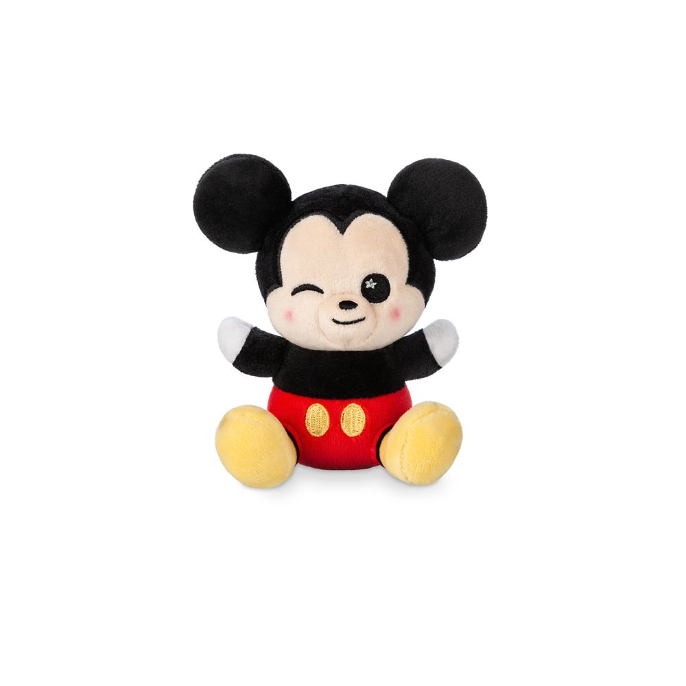 Mickey Mouse Winking Disney Parks Wishables Plush – Micro