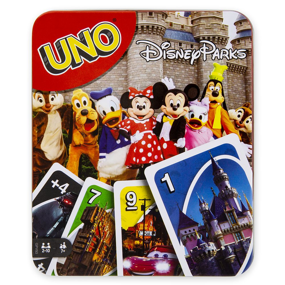 Disney Parks UNO Card Game