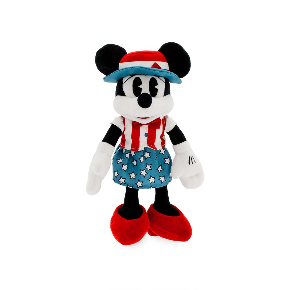 Minnie Mouse Americana Plush – Small – 11''