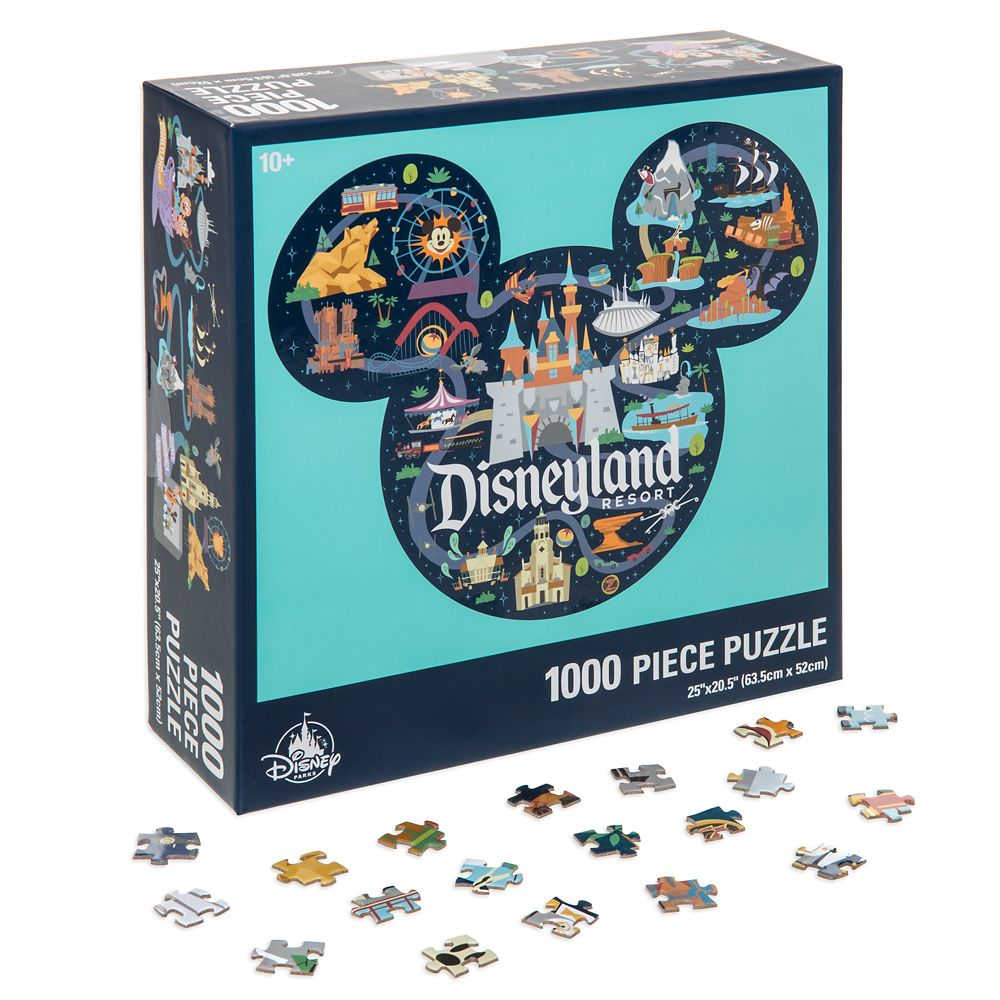 Disneyland Park Life Puzzle