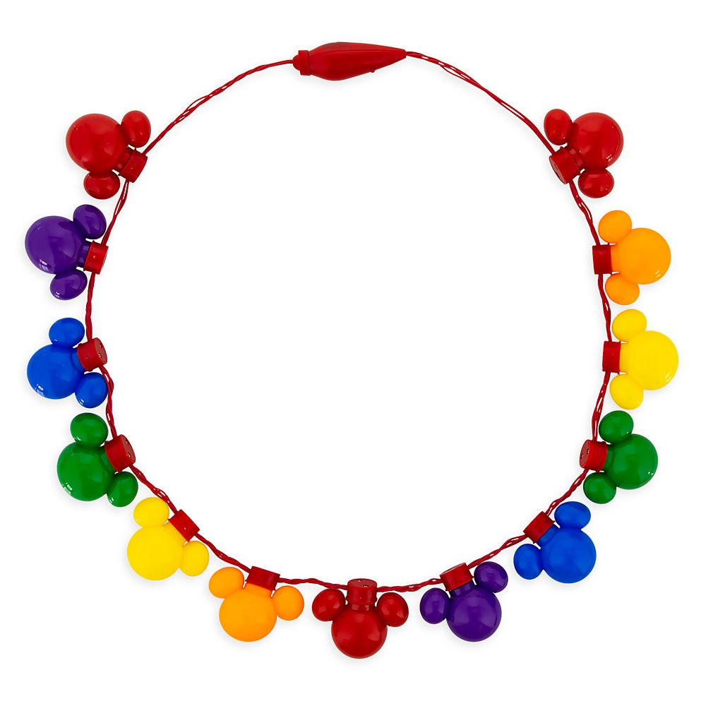 Rainbow Disney Collection Mickey Mouse Light-Up Necklace – 2020