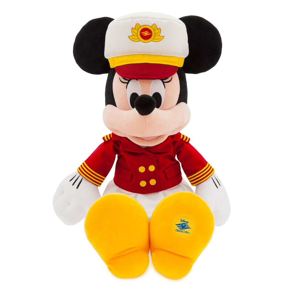 Captain Minnie Mouse Plush – Disney Cruise Line – Medium – 18''