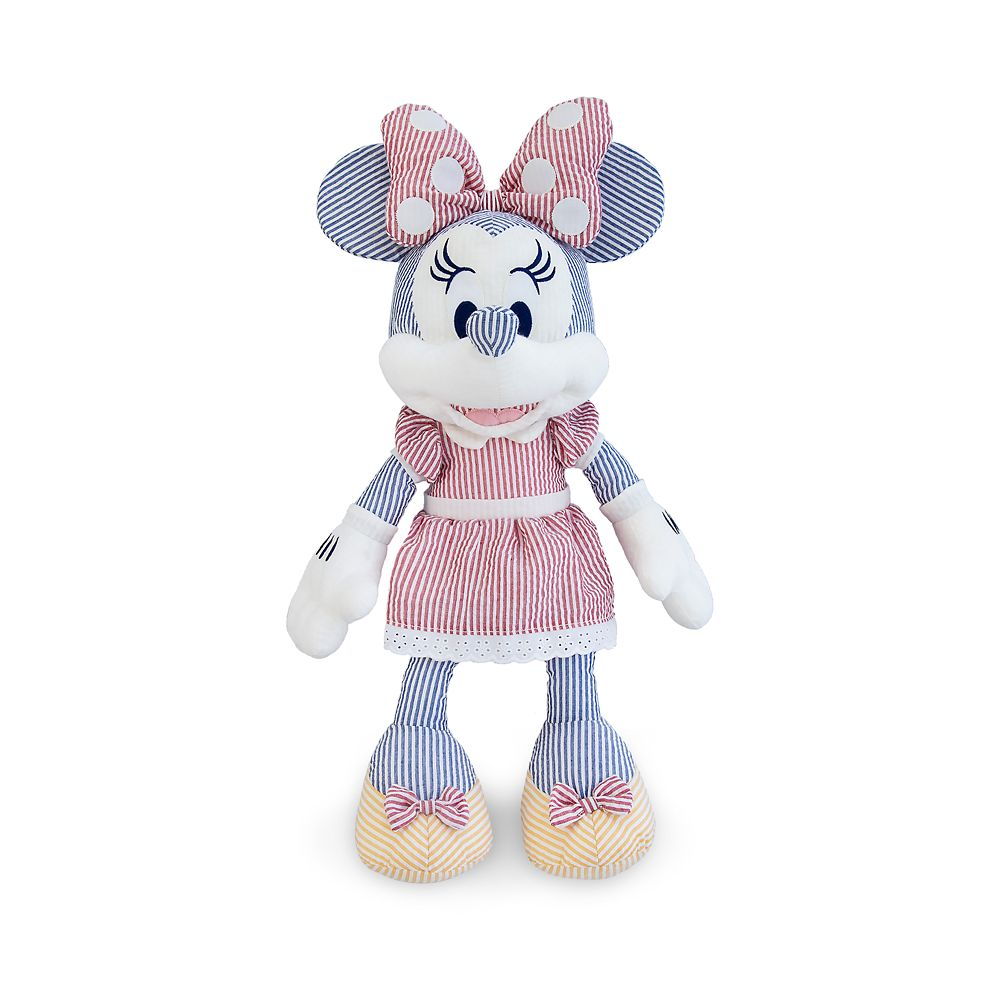 Minnie Mouse Seersucker Plush – Medium – 20''