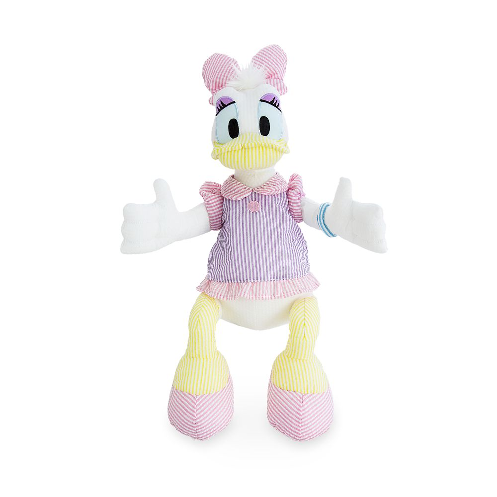 Daisy Duck Seersucker Plush – Medium – 20''