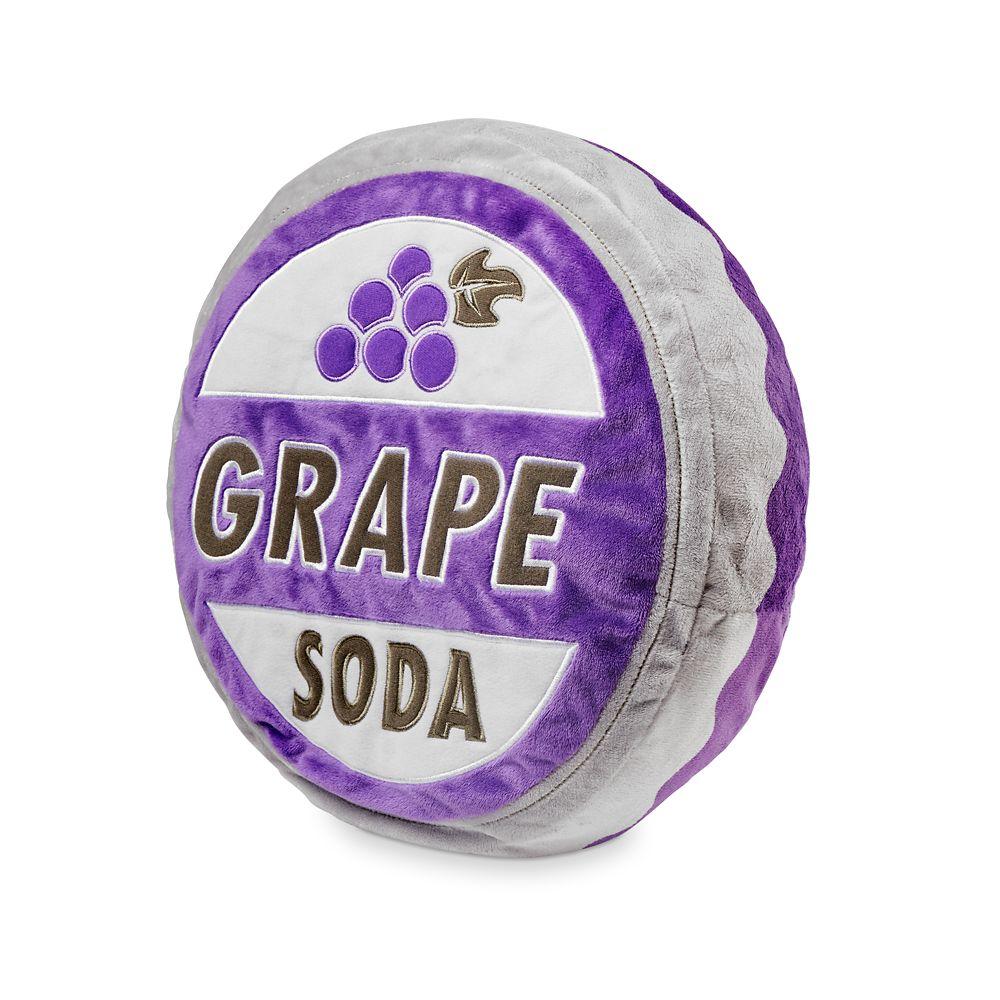 Grape Soda Bottlecap Plush Pillow – Up