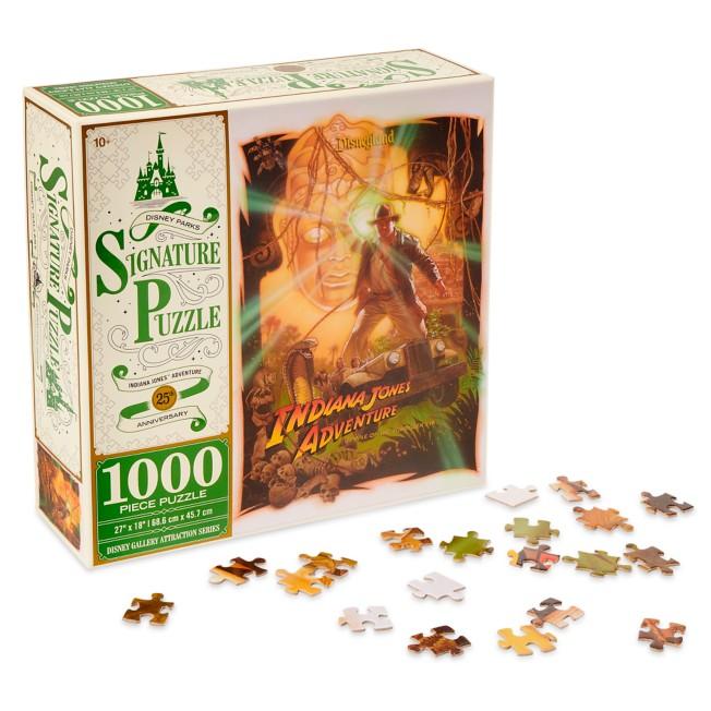 Indiana Jones Adventure: Temple of the Forbidden Eye 25th Anniversary Jigsaw Puzzle