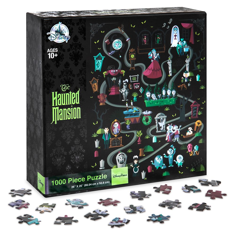 The Haunted Mansion Puzzle