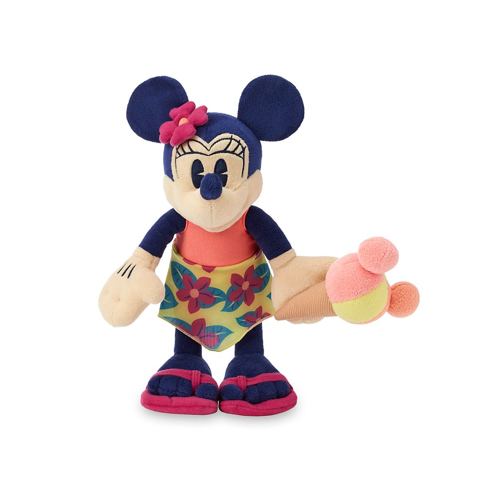 Minnie Mouse Plush – Aulani, A Disney Resort & Spa – Small – 11''