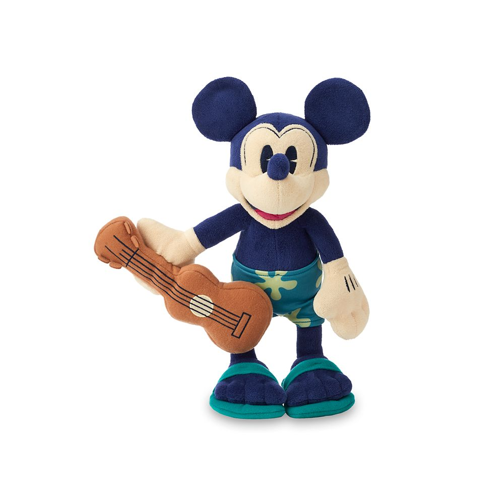 Mickey Mouse Plush – Aulani, A Disney Resort & Spa – Small – 11''