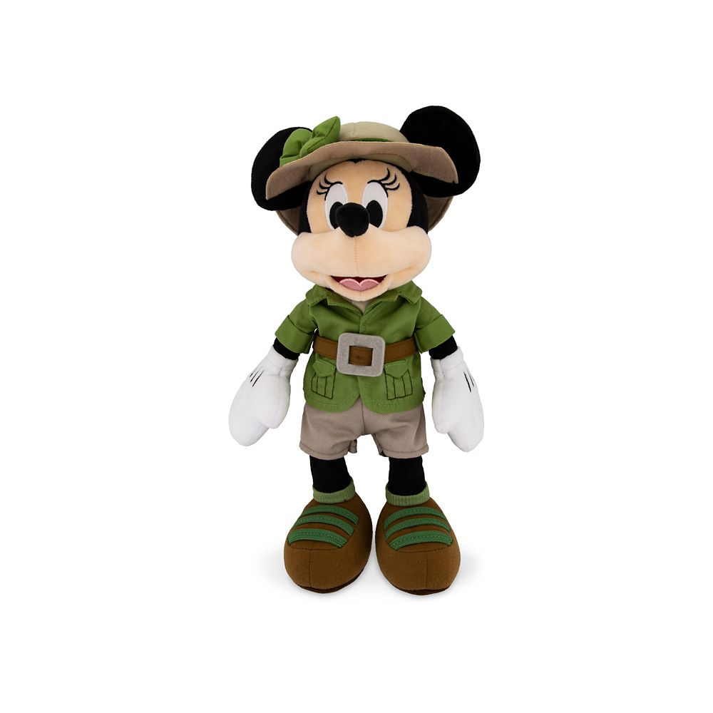 Minnie Mouse Safari Plush – Disney's Animal Kingdom – Small – 14''