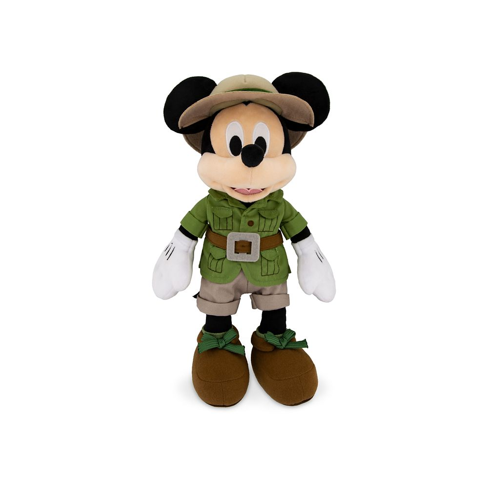 Mickey Mouse Safari Plush – Disney's Animal Kingdom – Small – 14''