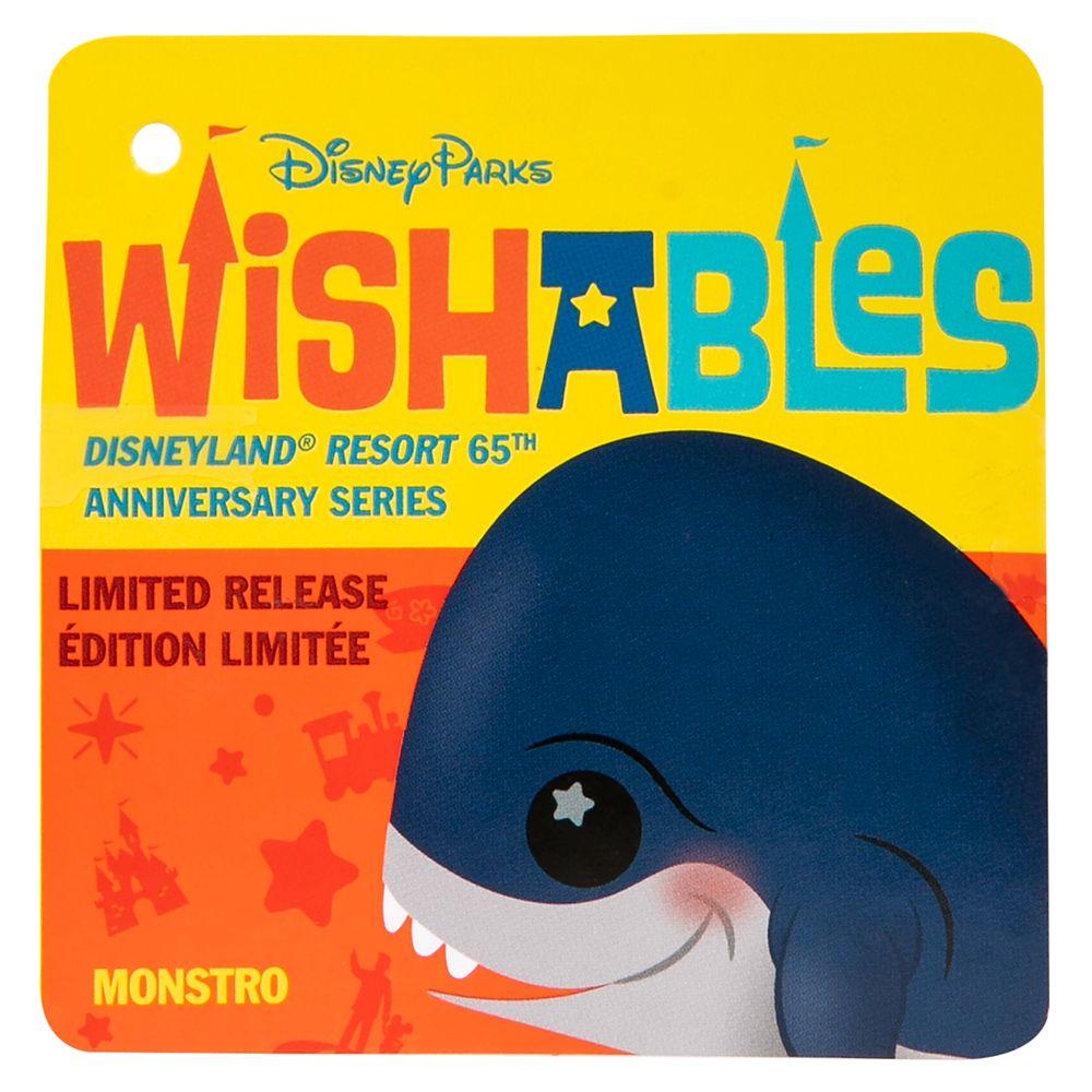 Monstro Disney Parks Wishables Plush – Disneyland 65th Anniversary Series – Micro – Limited Release