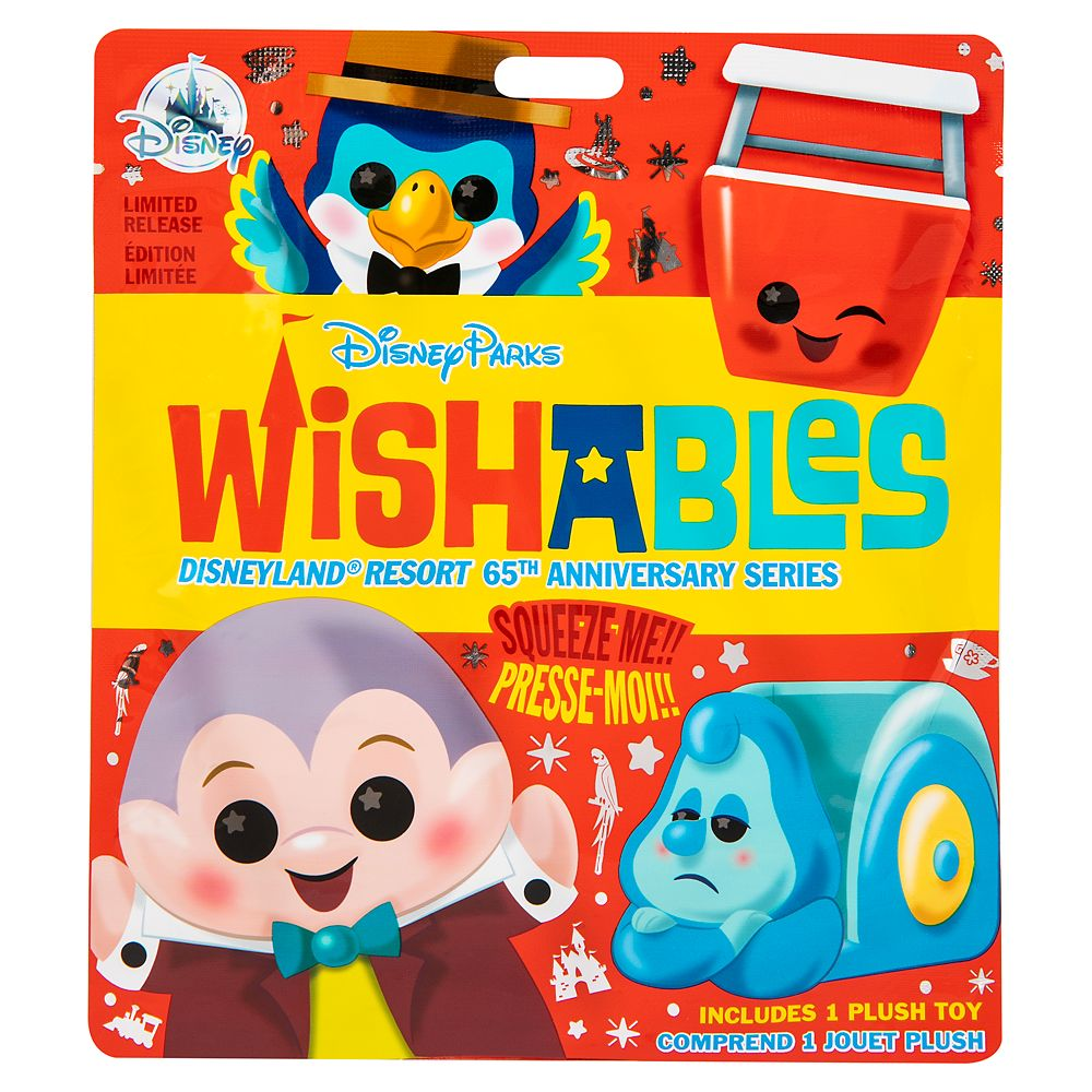 Disney Parks Wishables Mystery Plush – Disneyland 65th Anniversary Series – Limited Release