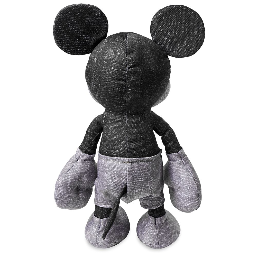 Mickey Mouse Denim Plush – Small 13''