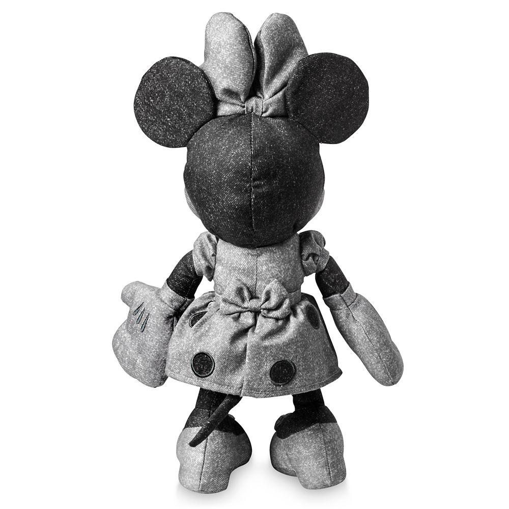 Minnie Mouse Denim Plush – Small 13''