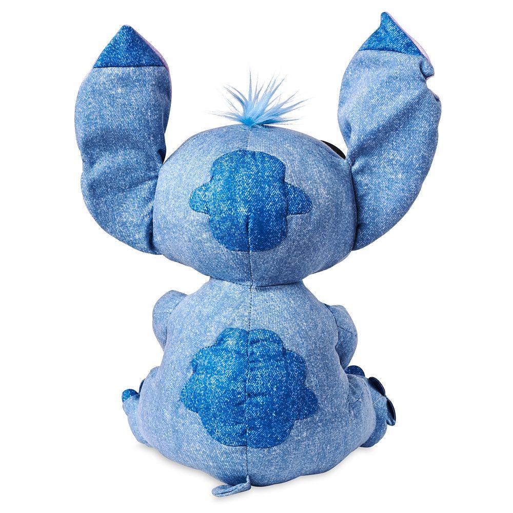 Stitch Denim Plush – Small 11''
