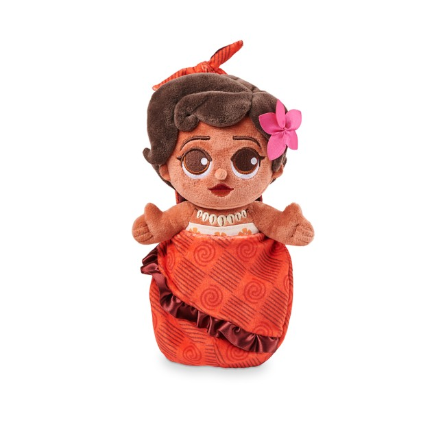 Disney Babies Moana Plush Doll in Pouch – Small 10''