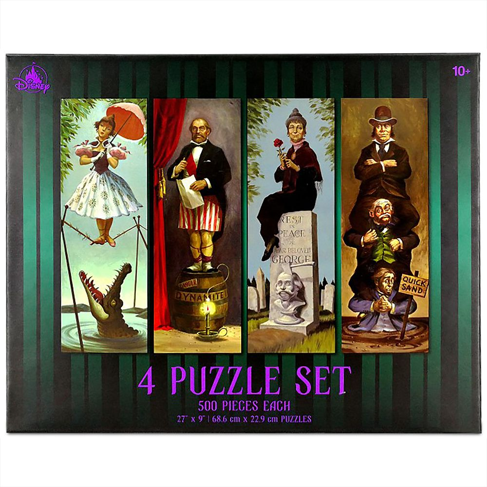 The Haunted Mansion Stretching Portraits Puzzle Set