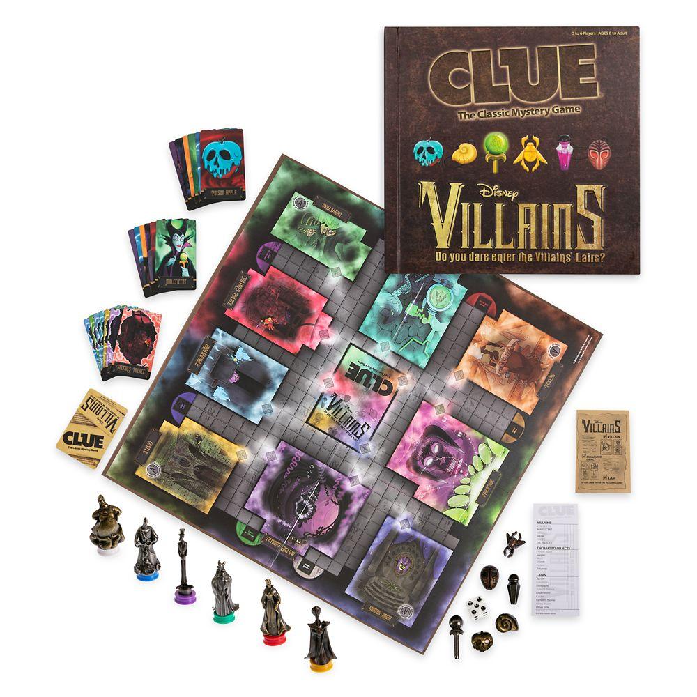Disney Villains Clue Game