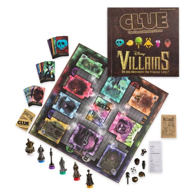 Disney Villains Clue Game
