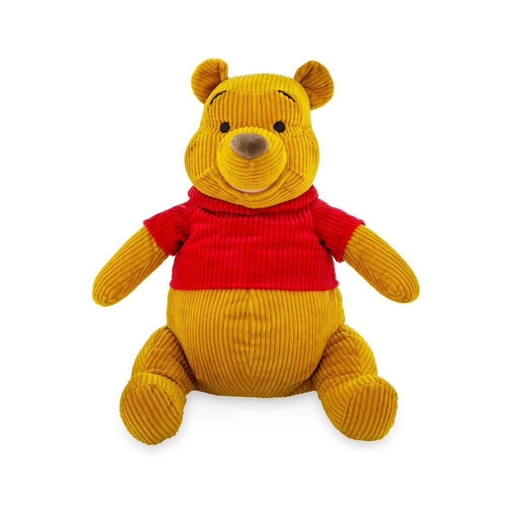 Winnie the Pooh Corduroy Plush – Medium – 12 1/2''