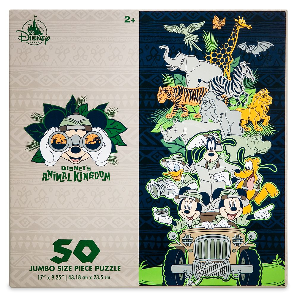 Mickey Mouse and Friends Puzzle – Disney's Animal Kingdom