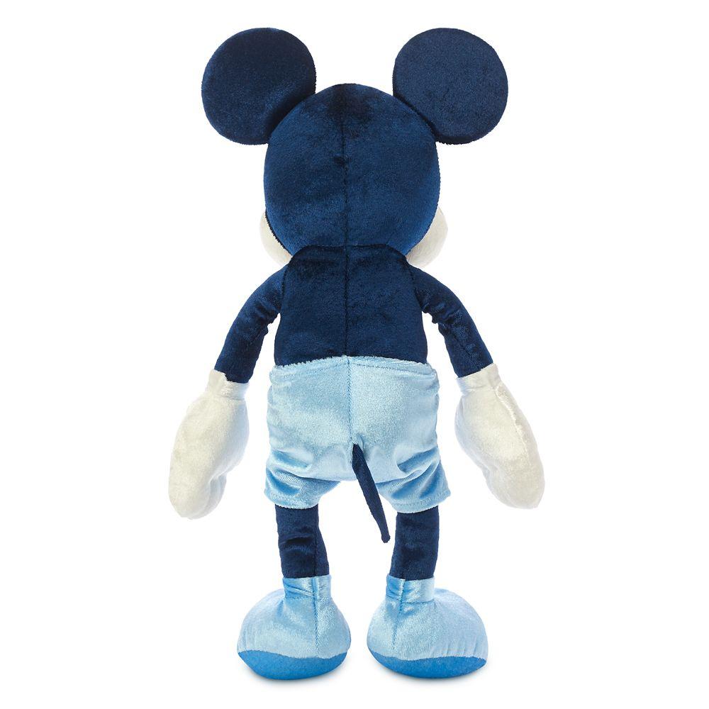 Mickey Mouse Velvet Plush – Small 13''