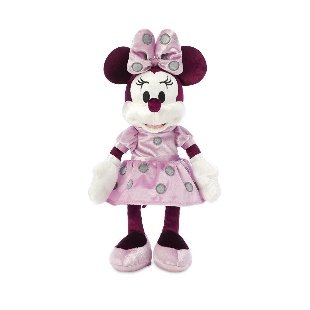 Minnie Mouse Velvet Plush – Small 13''